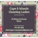 Cape & Islands Cleaning Ladies